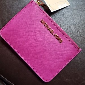 Michael Kors wallet with key chain